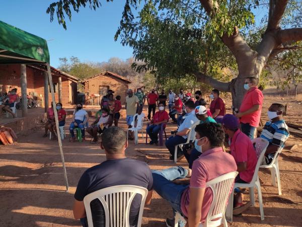 O CEFAS Participa de Ação Juntamente com o Sindicato do Trabalhadores Rurais de Oeiras em Comunidades Rurais Quilombolas.