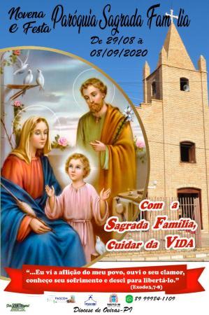 Festejo da Paróquia Sagrada Família - 2020